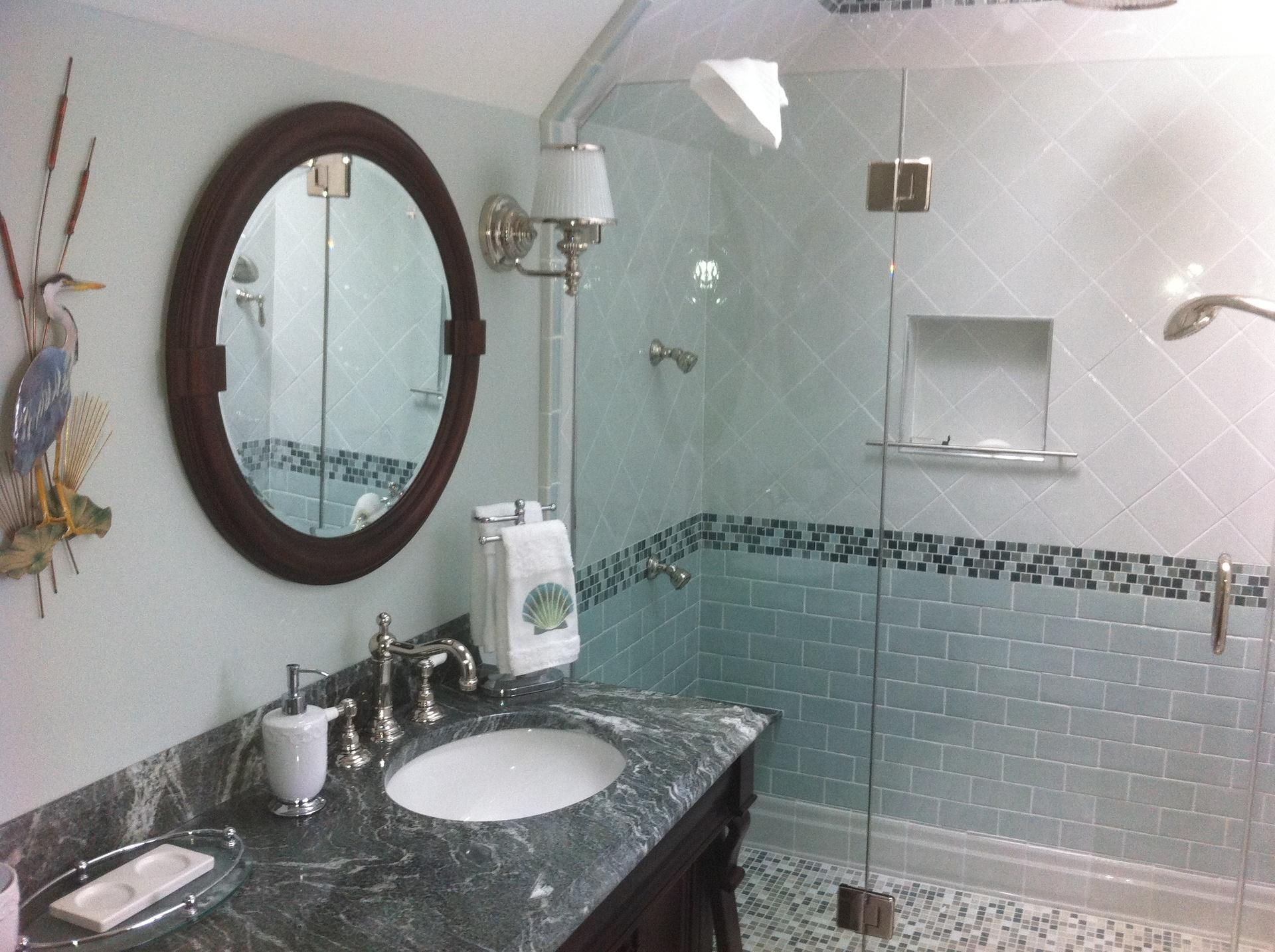 Bathroom Remodel  - Omega Contractors